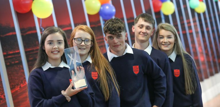 Virtually Connected, Socially Disconnected at the Young Social Innovators Ireland Awards in 2019