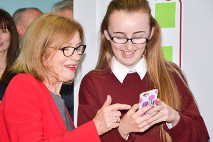 Minister O'Sullivan launches Digital Strategy from home of YSI project