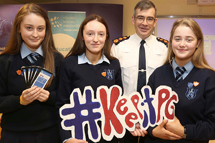 YSI Team Brief Garda Commissioner on Work Relating to Sexting Abuse