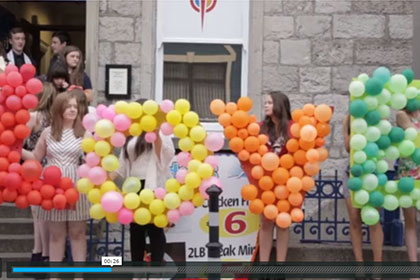 HSE Crisis Pregnancy Programme Produce Heartwarming Video of YSI Winning Team 2015