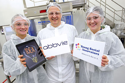 Award-Winning Cork Students Join AbbVie Employees for Unique Innovation Exchange