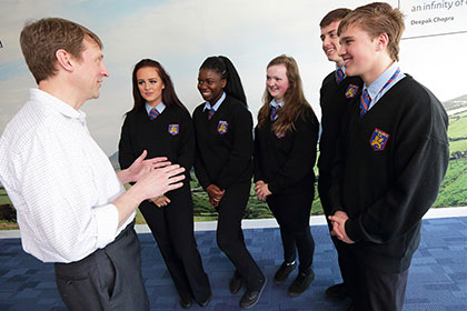 AbbVie (Dublin) Hosts Innovation Exchange with Young People on Creative Ideas for Social Good