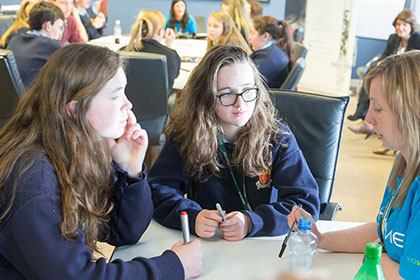 AbbVie (Sligo) Hosts Innovation Exchange with Young People on Creative Ideas for Social Good