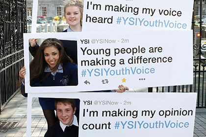 Youth Voice heard at Government level