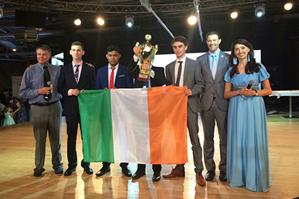 Dublin Students Scoop Gold at Global Innovation and Enterprise World Cup