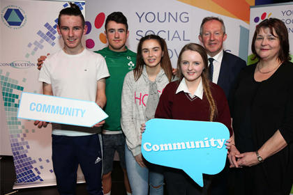 Construction industry and young people join forces to build better communities