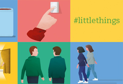 There's Strength in Numbers - #littlethings campaign