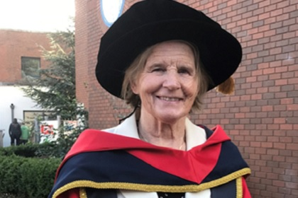 Sr Stan Receives Honorary Doctorate from Dublin City University