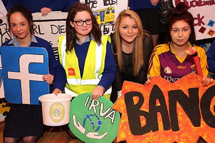 YSI Seatbelt Safety Campaign - Our Lady of Lourdes Secondary School